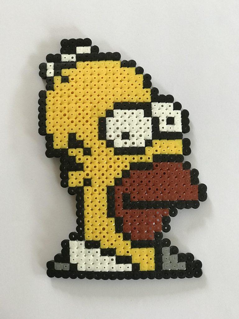 Homer Simpson Hama Bead Patterns