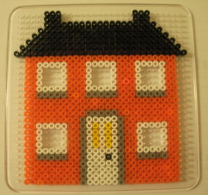 Our First Hama Bead House