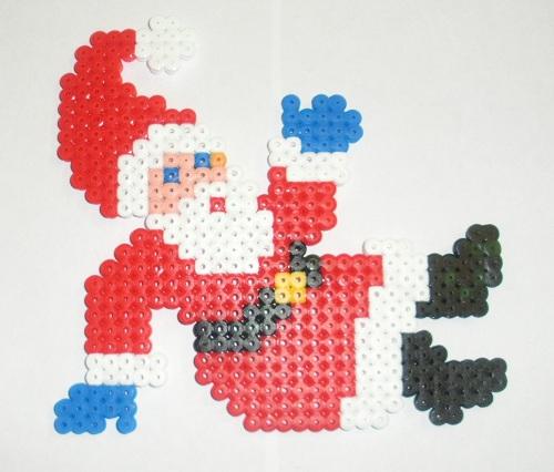 Santa Hama Bead Pattern