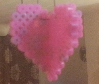 3d Hama Bead Heart