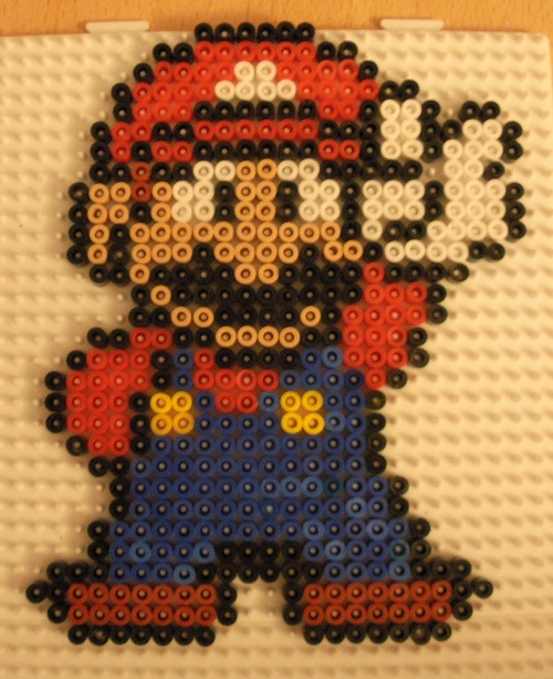 Super Mario Hama Bead Pattern