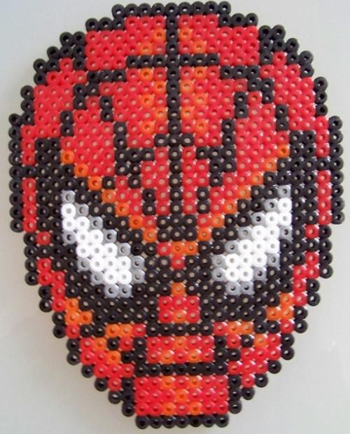 Spider Man Hama Bead Pattern