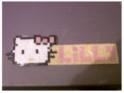 Hello Kitty Personalised Door Sign