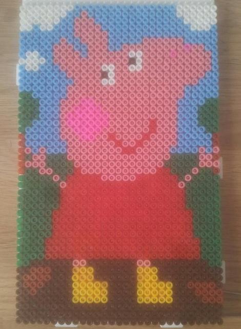 Peppa Pig Hama Bead Pattern