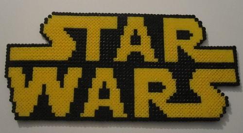 Star Wars Hama Bead Logo
