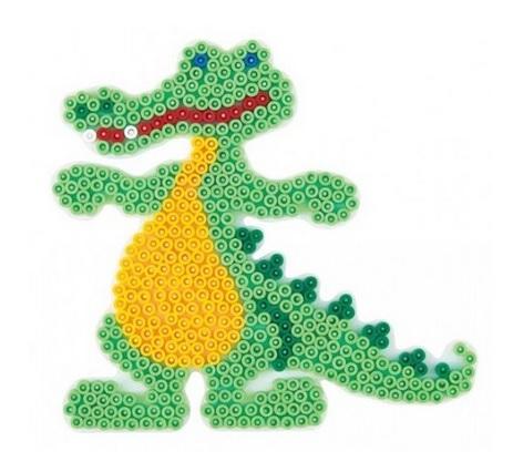 Crocodile Hama Bead Pattern