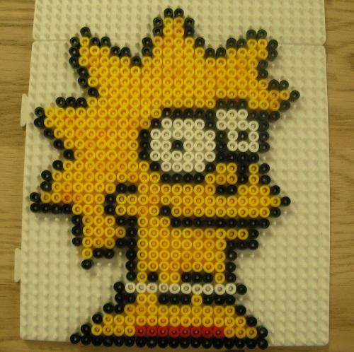 Lisa Simpson Hama Bead Pattern