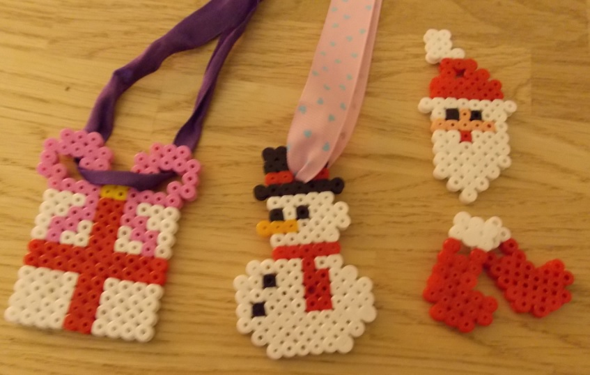 Christmas Hama Bead Decorations