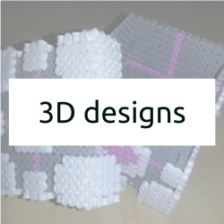 3D Hama Bead Patterns