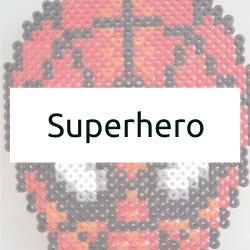 Superhero Hama Bead Patterns