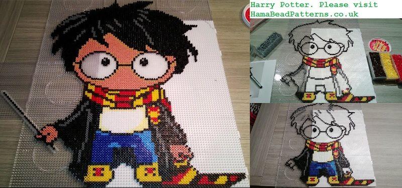 Harry Potter Large Hama Bead Project